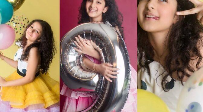 Mahesh babu daughter Sitara celebrates her 9th birthday