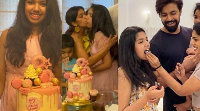 Sreeja kalyan's daughter Nivrithi 13th birthday celebration photos!