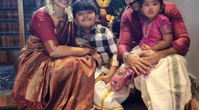 2021! Sneha Prasanna and family celebrated Ganesh Chaturthi!